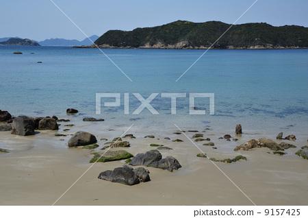 照片: 海滨 白滨海岸 西海国立公园