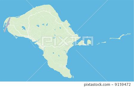 插图: 久米岛 地图学 地图