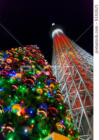 圣诞 尤尔 东京晴空塔