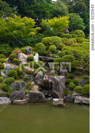日式花园 风景公园 智积院寺庙