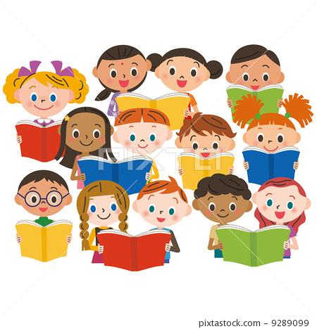 儿童 阅读 孩子