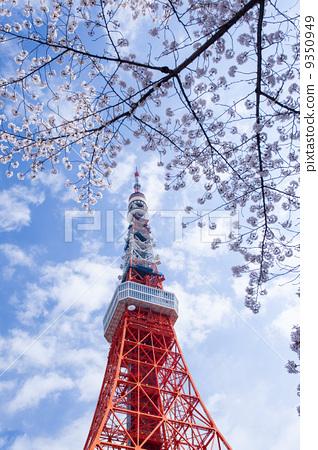照片素材(图片): 东京铁塔 风景名胜 旅游胜地