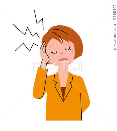 头痛 偏头痛 9360545