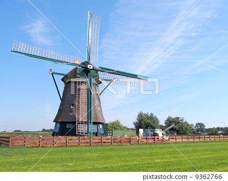 风车 风力涡轮机 风速