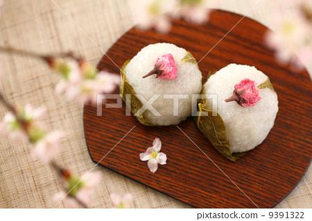 照片 生活方式_生活 餐 点心 甜食 甜点 樱花年糕  *pixta限定素材仅