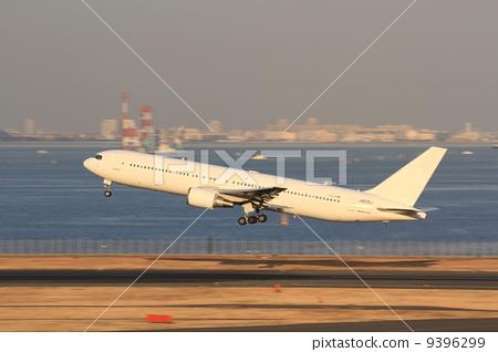 飞机 起飞 喷气式飞机