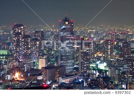 建筑群 东京风景 东京-图库照片 [9397302] - pixta