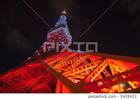 东京铁塔 东京塔 无线电塔
