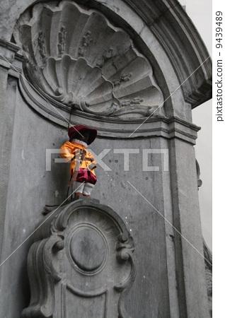 图库照片: 丘比特雕像向喷泉里撒尿 旅途 旅行