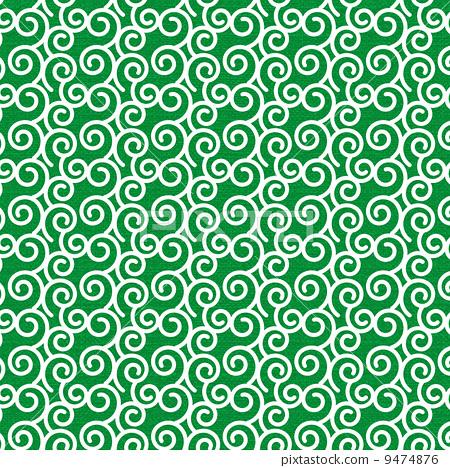 图库插图: 蔓藤花纹 设计 样式