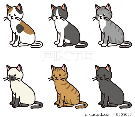 图库插图: 矢量 猫 猫咪