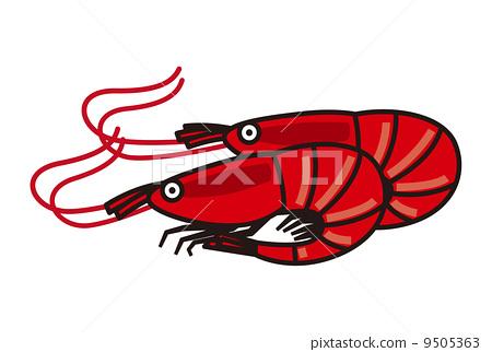 小虾简笔画带步骤