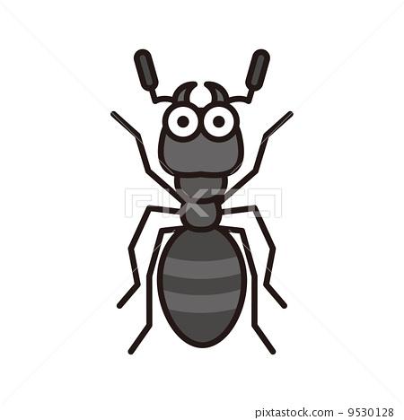 蚂蚁 剪贴画 说明