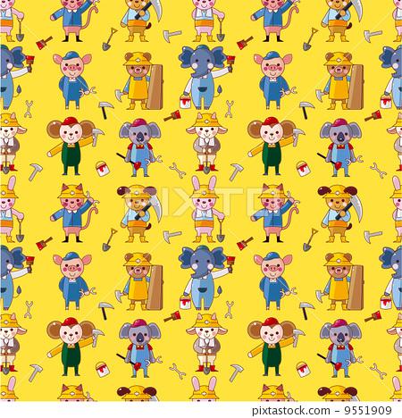 动物四格连环画 - 少儿四格连环画图片