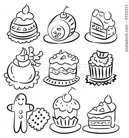 酸奶卡通图片简笔画