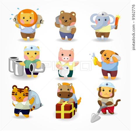 图库插图: 动物 动物园 宠物