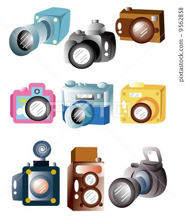 设计 照相机 卡通