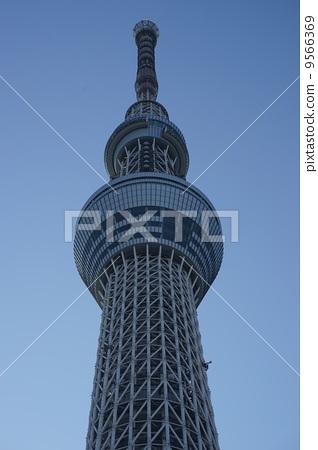 晴空塔 著名的地方 塔