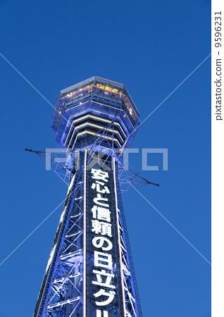 日本风景 大阪 通天阁 照片 通天阁 大阪市 关西 首页 照片 日本风景