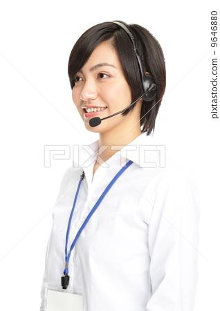 女人 女性 接线员