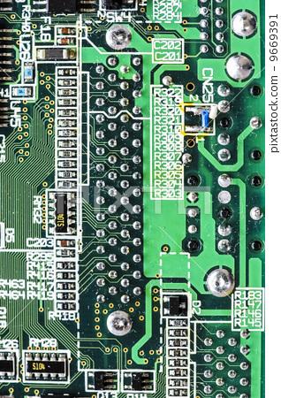 电器插板 电脑线路板 办公室
