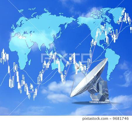 世界地图 股票投资 世界经济