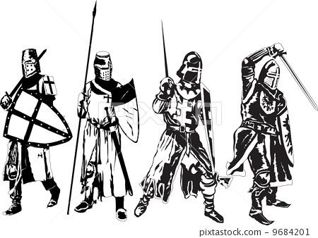 插图素材: knight