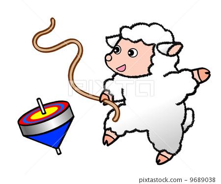 羊 绵羊 可爱
