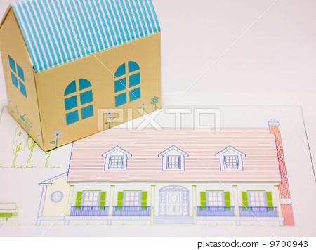 房屋模型 stock photos