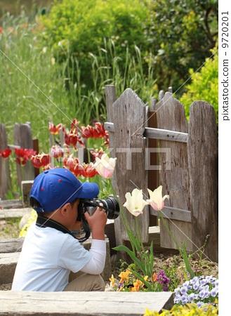照相机 儿童 拍照