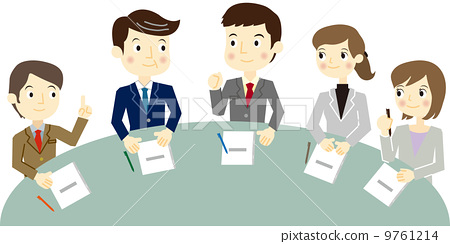 插图素材: 开会 会议 商业