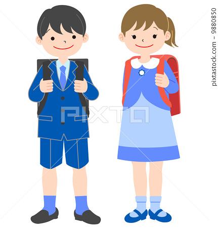 儿童 小学一年级学生 入学典礼