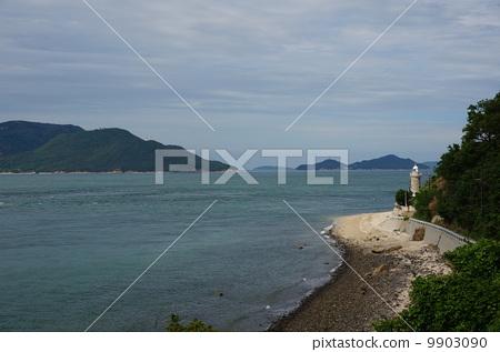 四国岛 灯塔 濑户内海