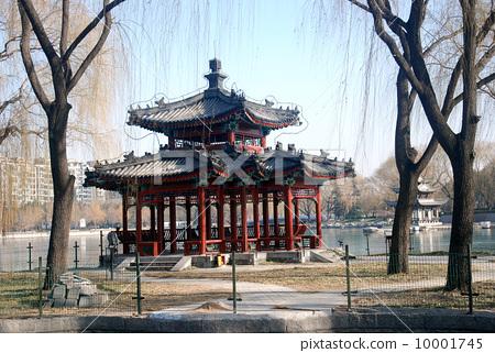 北京陶然亭公园--亭楼
