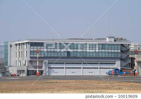 飞机库 直升机停机坪