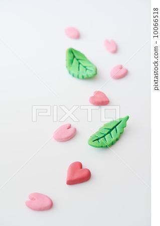 图库照片: 粘土工作 用粘土做东西 樱花