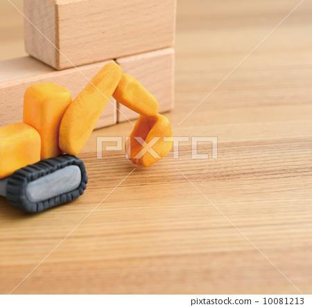 粘土工作 电铲 用粘土做东西