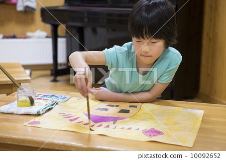 图库照片: 图画 画图 小孩图片