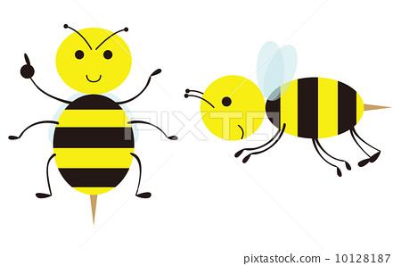 插图素材: 蜜蜂