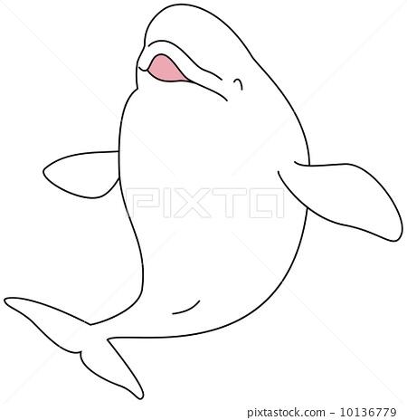 动物雕塑,海洋生物_乐乐简笔画