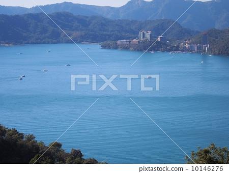 日月湖 非城市场景 蓝天