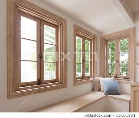 住宅_室内装饰 室内装饰_家具 窗口 窗口 窗户 窗  *pixta限定素材仅