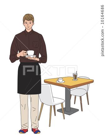 咖啡师 家具 工作