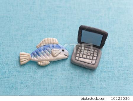 鱼 用粘土做东西 粘土工作