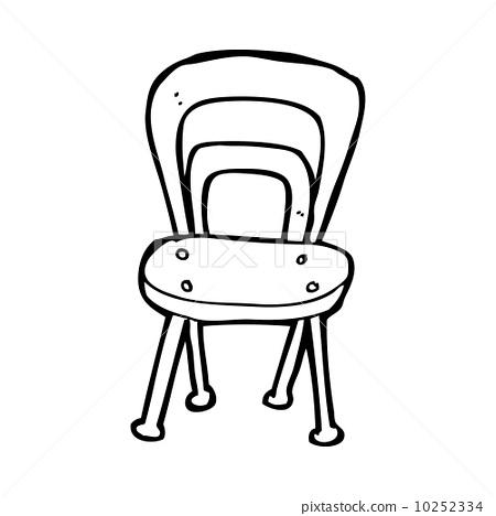 家具 简笔画 手绘 线稿 椅 椅子 450_468-简笔画 手绘 线稿