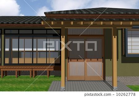 入口 门厅 日式房屋