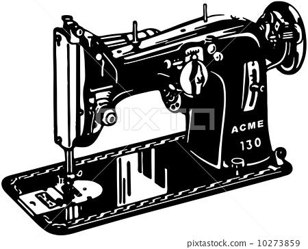 缝纫 矢量图
