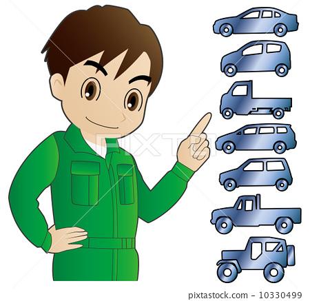 交通工具 车辆 机械师