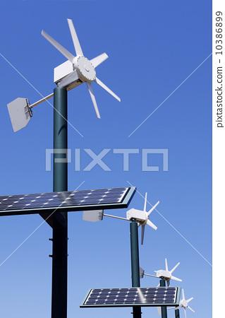 图库照片: 生态能源发电 光伏 太阳能