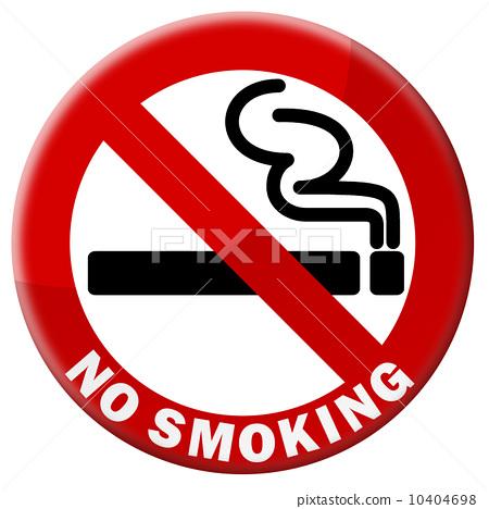 禁止吸烟标志简笔画